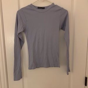 NWT Brandy Melville Light Blue Long Sleeve Tee